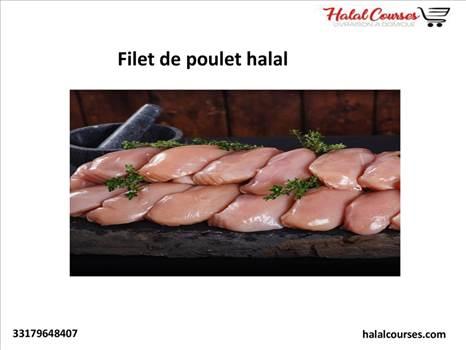 Filet de poulet halal by Halal Courses