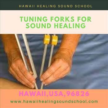 Tuning forks for sound healing by hawaiihealingusa