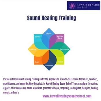 Sound healing training by hawaiihealingusa