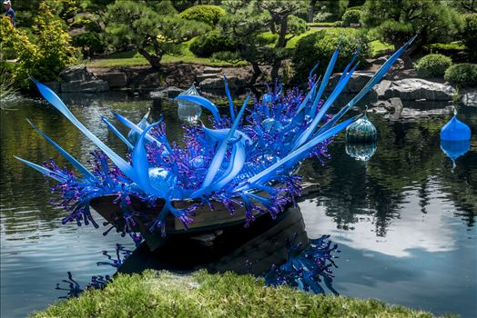 Chihuly Blue Boat.jpg by Dennis Rose
