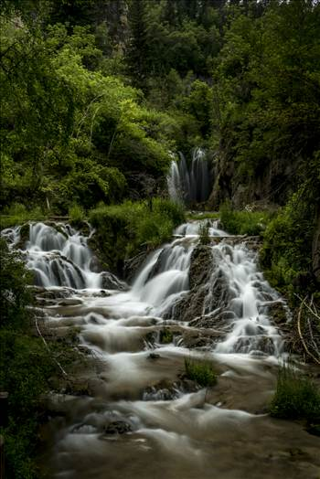 Spearfish Falls.jpg by Dennis Rose