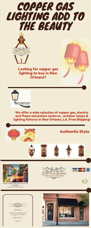 Copper Gas Lighting Add to the Beauty.png by Gulfcoastlanterns