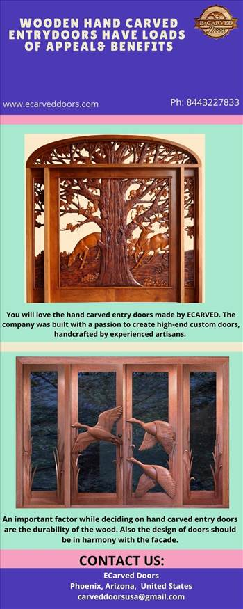 Wooden Hand Carved Entry Doors Have Loads of Appeal & Benefits.jpg by Ecarveddoors