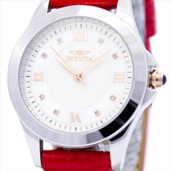 Invicta Angel Diamond-Accented Quartz Leather Strap Womens Watch.jpg by zetawatches