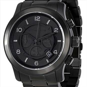 Michael Kors Blacked Out Runway Chronograph MK8157 Mens Watch.jpg by zetawatches