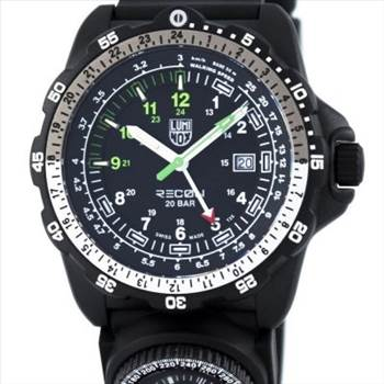 Luminox Land Recon NAV SPC 8830 Series Swiss Quartz Mens Watch by zetawatches