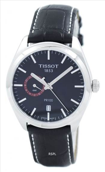 Tissot T-Classic PR 100 Dual Time Quartz T101.452.16.051.00 T1014521605100 Men's Watch.jpg by zetawatches