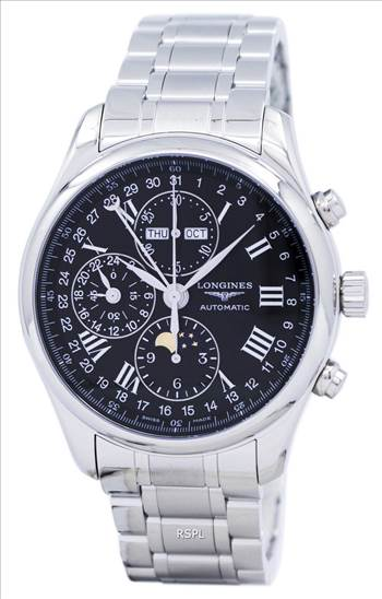 Longines Master Collection Moon Phase Chronograph Automatic L2.773.4.51.6 Men's Watch.jpg by zetawatches