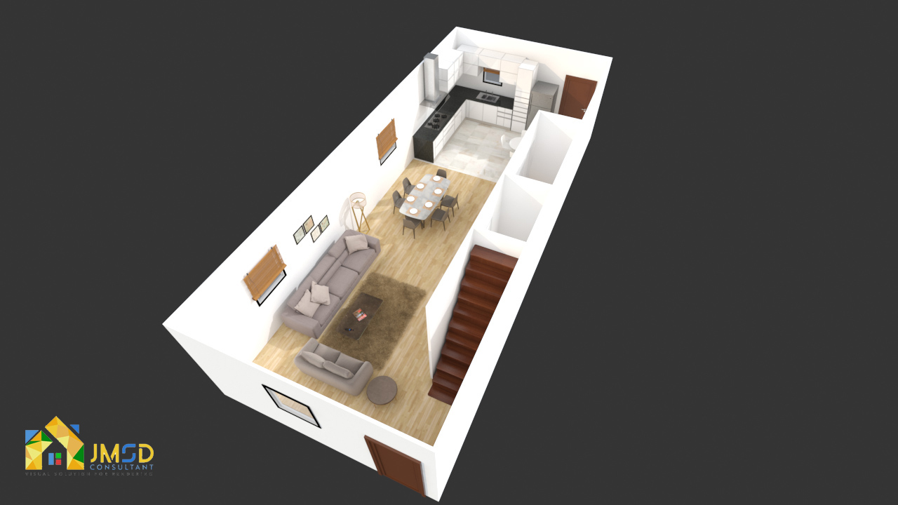 3D Floor Plan Design Company Vancouver, Canada  by JMSDCONSULTANT