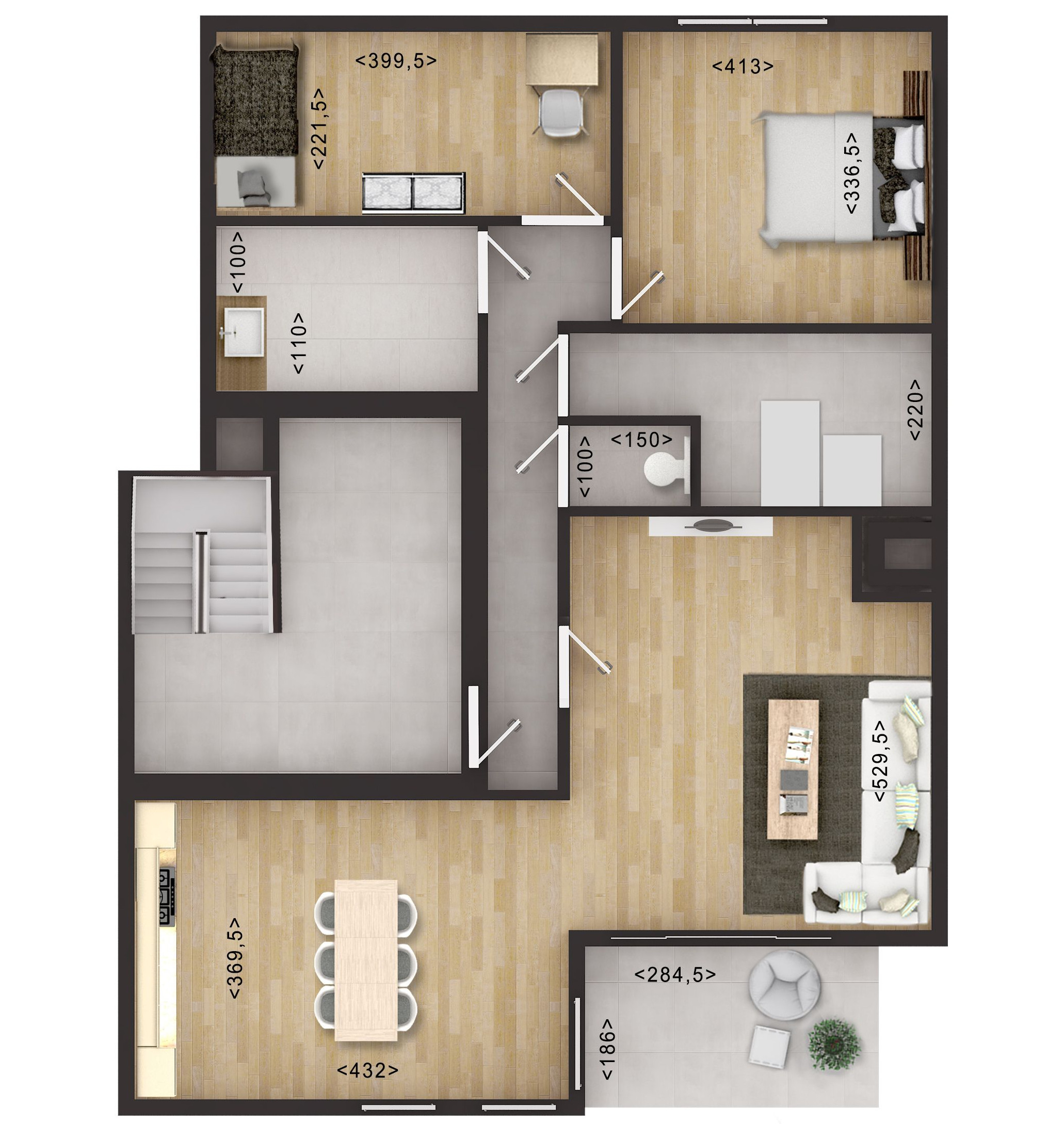2D Floor Plan Rendering with Photoshop 2D Floor Plan Rendering with Photoshop by JMSDCONSULTANT
