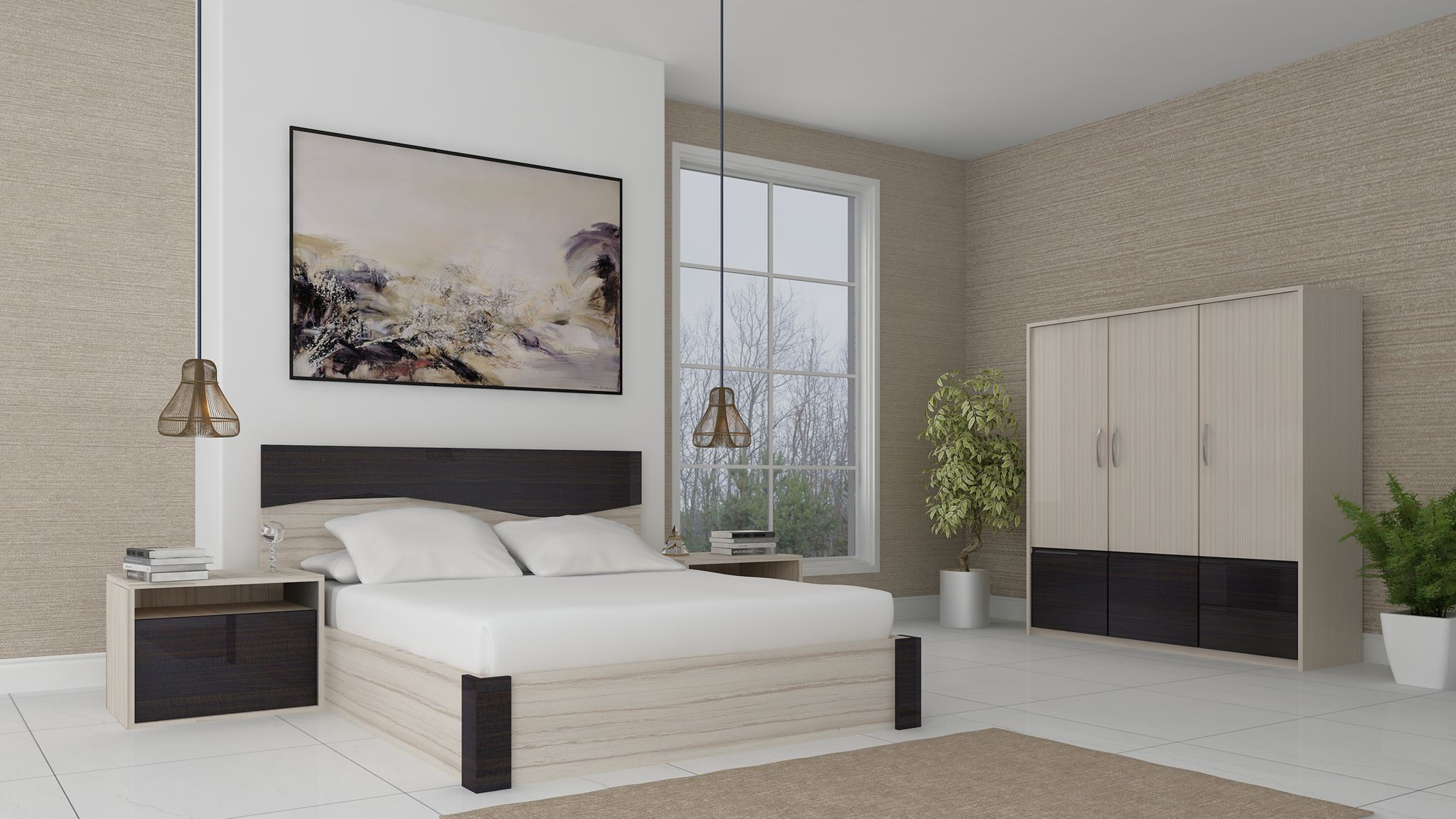 Bedroom 3D Interior Rendering Brooklyn NY 3D Interior Rendering Services by JMSDCONSULTANT