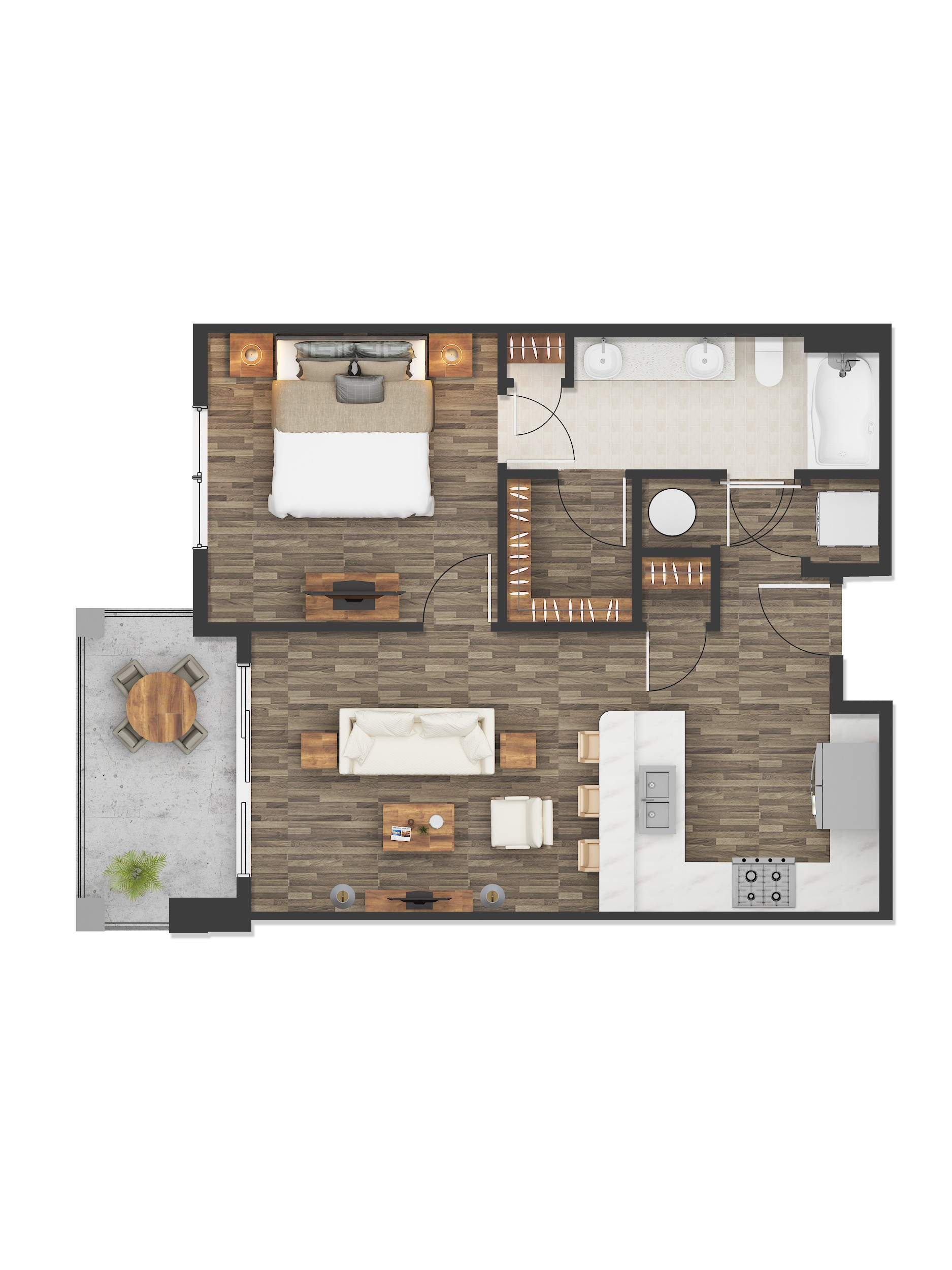 2D Floor Plan Rendering Services Houston Texas Color 2D Floor Plan Rendering Services Houston Texas by JMSDCONSULTANT