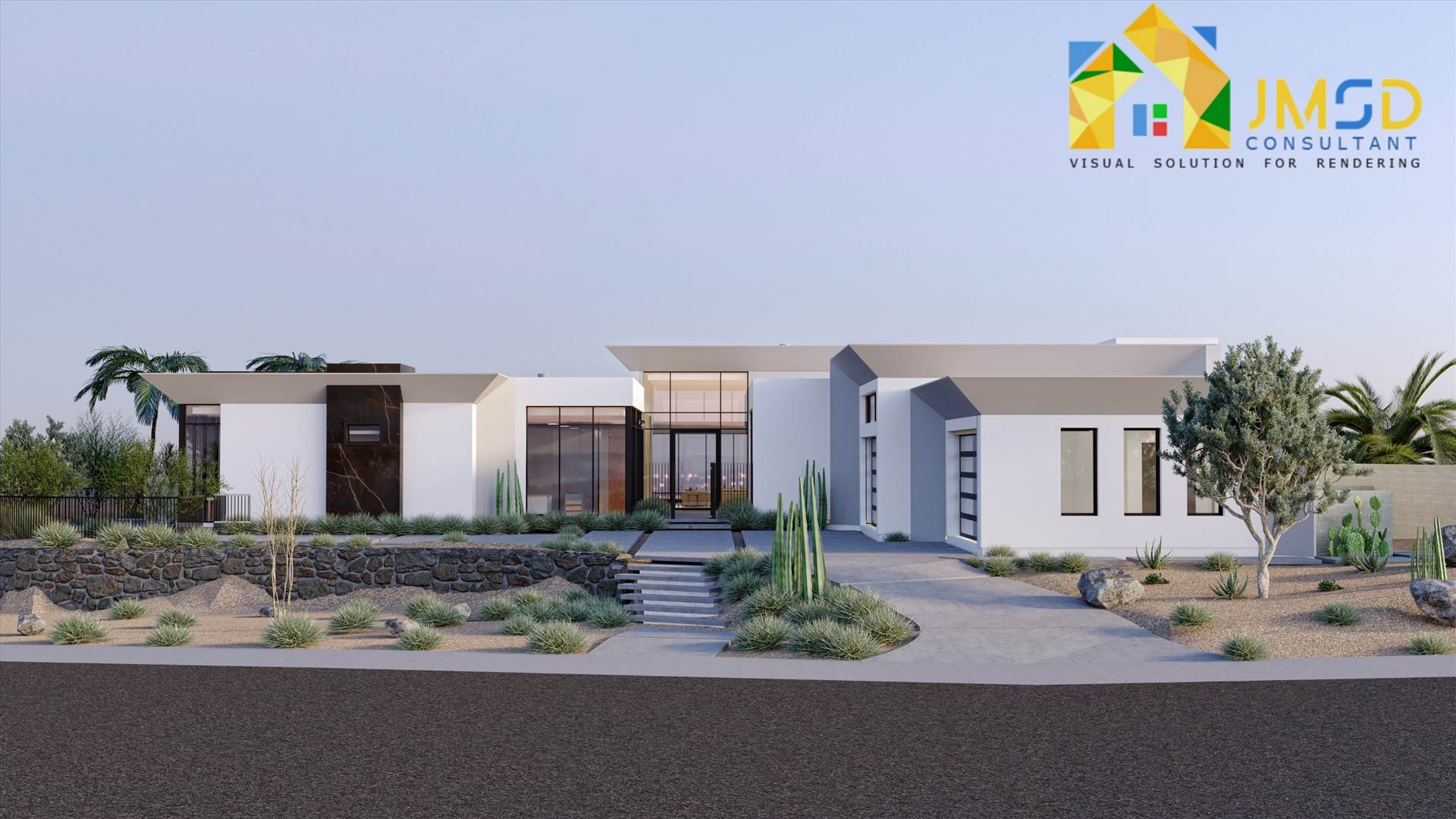 Architectural 3D Exterior Rendering Services For Villa Architectural 3D Exterior Rendering Services giving your ideas to New Life. 3D Exterior Rendering Services: A Perfect Brief of Property. by JMSDCONSULTANT