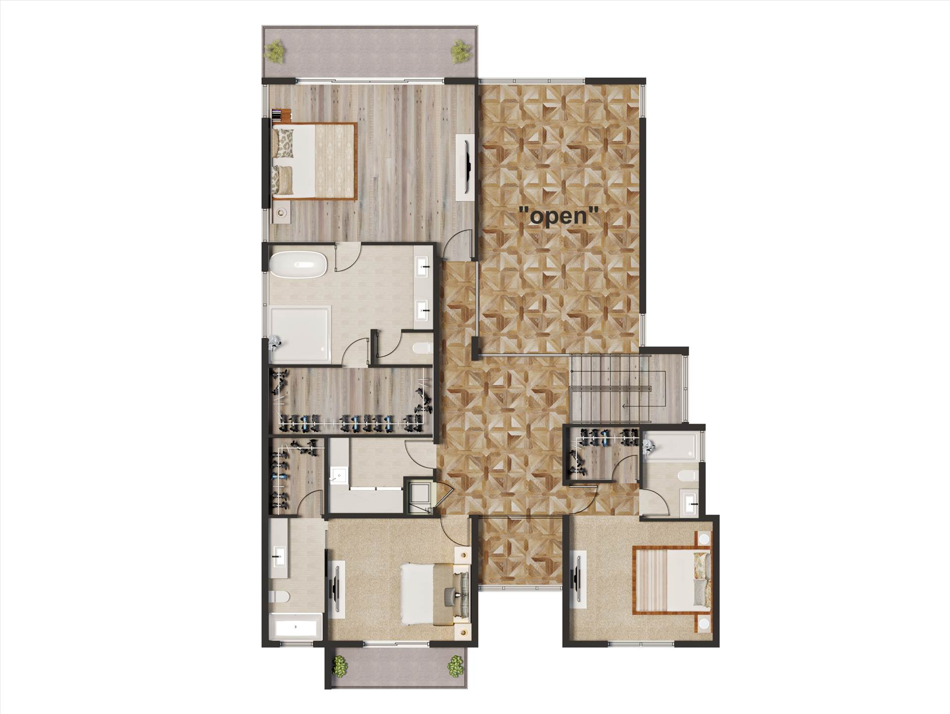 Floor Plan Rendering Services For Home Builders In Fort Lauderdale Florida Real Estate agent and Developer and am building some spec homes. full color Floor Plan Rendering with some integrate some of the finishes like flooring, kitchen, etc. by JMSDCONSULTANT