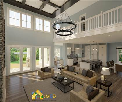 Photorealistic 3D Interior Rendering Services for Home by JMSDCONSULTANT