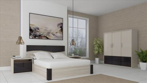 Bedroom 3D Interior Rendering Brooklyn NY by JMSDCONSULTANT
