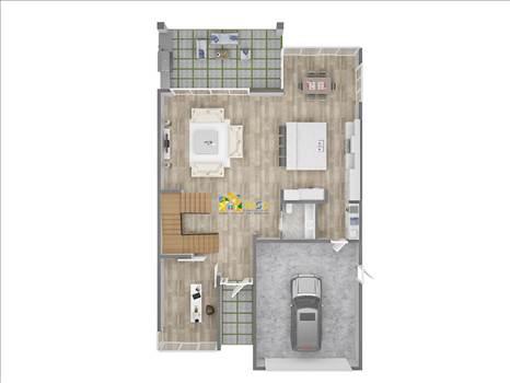 3D Floor Plan Rendering Services by JMSDCONSULTANT