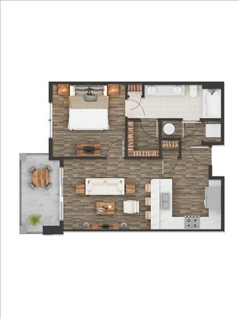 2D Floor Plan Rendering Services Houston Texas by JMSDCONSULTANT
