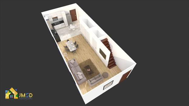 3d floor plan rendering vancouver canada by JMSDCONSULTANT