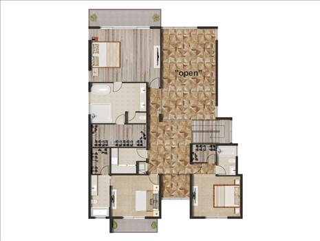 Floor Plan Rendering Services For Home Builders In Fort Lauderdale Florida - Real Estate agent and Developer and am building some spec homes. full color Floor Plan Rendering with some integrate some of the finishes like flooring, kitchen, etc.