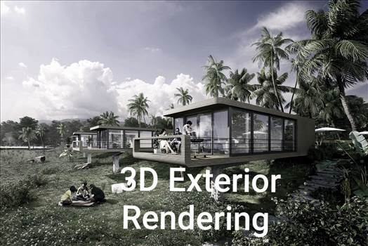 Architectural 3D Exterior Rendering Services by JMSDCONSULTANT