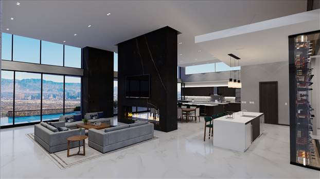 3D Interior Rendering Services Las Vegas NV by JMSDCONSULTANT