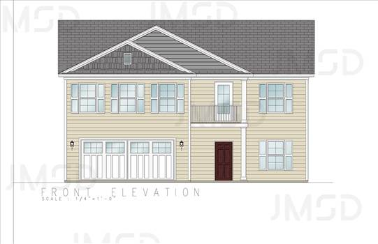 2D COLOR ARCHITECTURAL ELEVATION SERVICE - REAL ESTATE RENDERINGS. by JMSDCONSULTANT