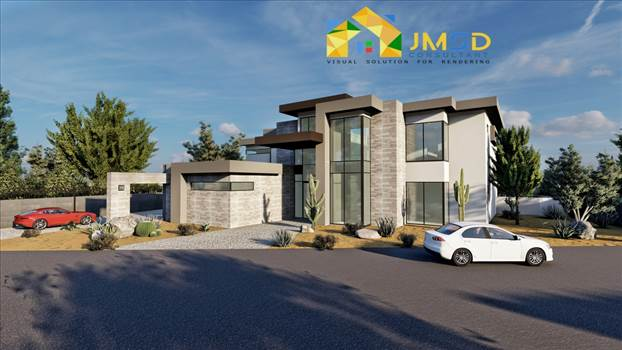 3D Residential Home Rendering Services Henderson Nevada by JMSDCONSULTANT