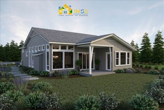 3D Exterior Home Rendering Services Hartford Connecticut by JMSDCONSULTANT