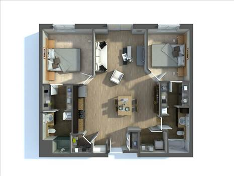 3D Floor Plan Renderings Services by JMSDCONSULTANT