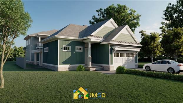 3D Exterior Home Rendering Myrtle Beach South Carolina by JMSDCONSULTANT