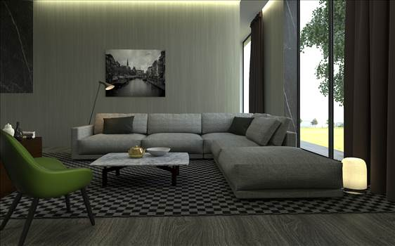 3D Interior Rendering Services by JMSDCONSULTANT