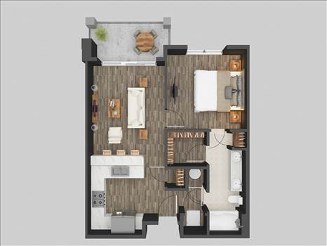 3D Floor Plan Rendering Services Miami Florida by JMSDCONSULTANT