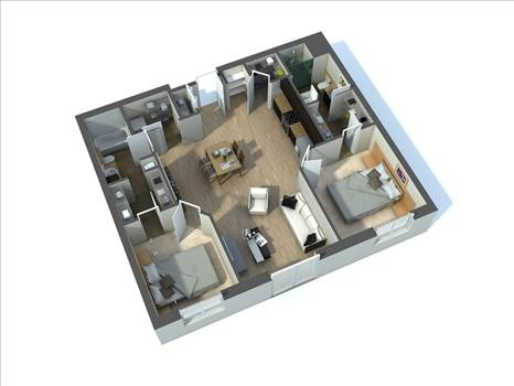 3D Floor Plan Design Services by JMSDCONSULTANT