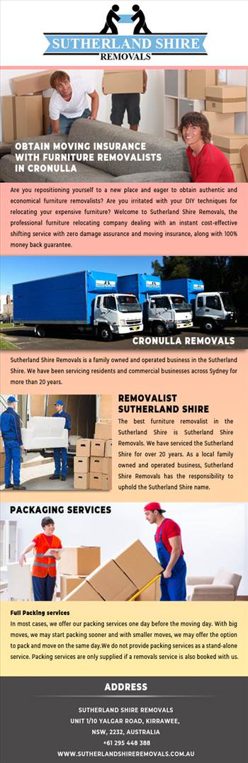 Obtain moving insurance with furniture removalists in Cronulla.jpg by Sutherlandshireremovals