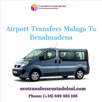 Airport transfers Malaga to Benalmadena by ecotransferscostadelsol