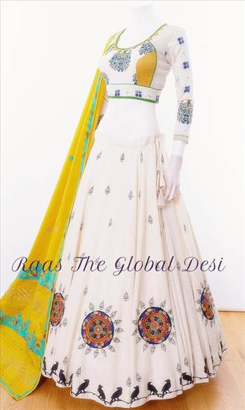 Buy CC2762 Chaniya Choli - Raastheglobaldesi by RAASCLOTHING