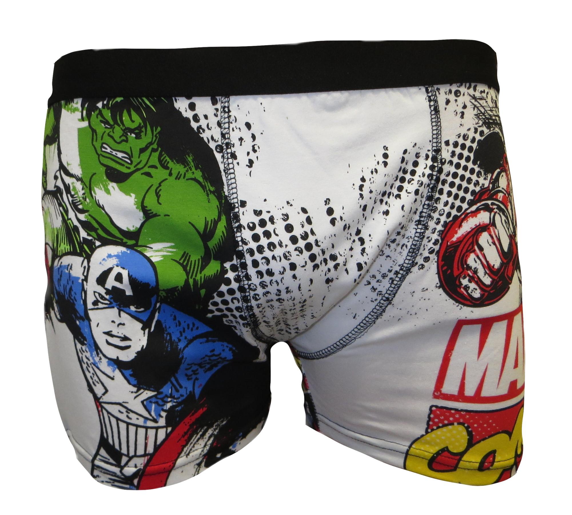 Marvel Comics Men's Boxer Trunks MUW29.JPG  by Thingimijigs