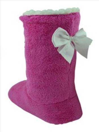 3360-1_sherpa_plain_boots_bow_1 Pink.jpg by Thingimijigs
