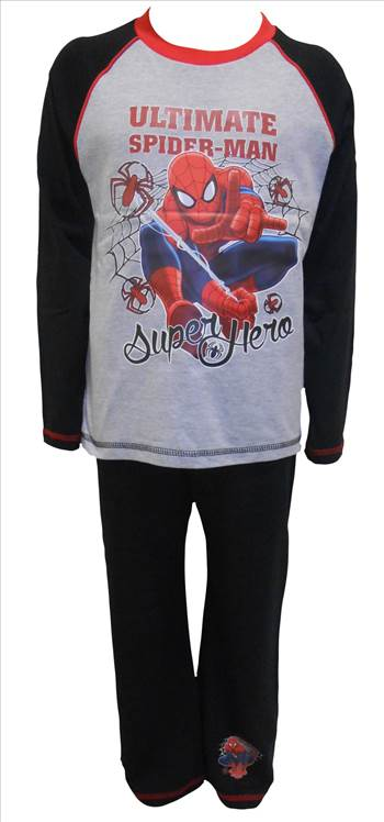 Spiderman Boys Pyjamas PB258.JPG by Thingimijigs
