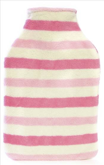 Stripe Hot Water Bottle HH215.jpg by Thingimijigs