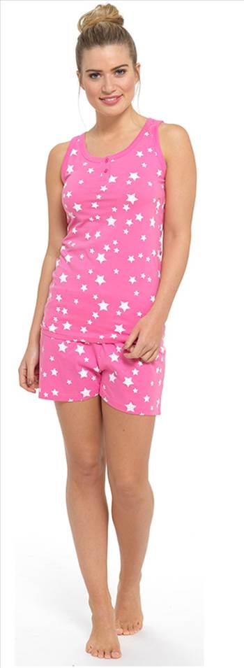 Ladies Shortie Set Pink LN702.jpg by Thingimijigs