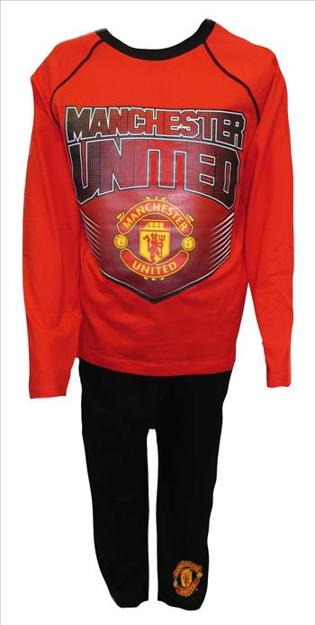 MUFC Older Boys Pyjamas.JPG by Thingimijigs
