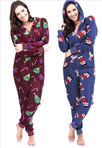 Ladies Christmas Onesie LN650.jpg by Thingimijigs