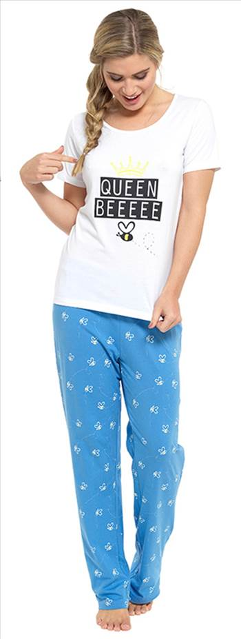 Ladies Pyjamas LN494 Blue.jpg by Thingimijigs