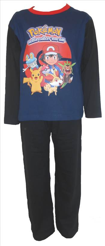 Pokemon Boys Pyjamas PB274.JPG by Thingimijigs