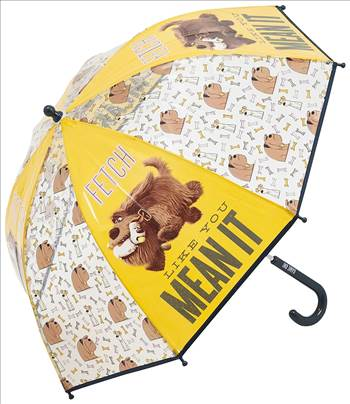 Secret Life of Pets Umbrella 1.jpg by Thingimijigs