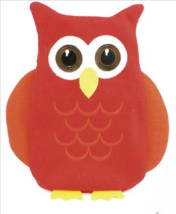 HH0243 Owl Hot Water Bottle.jpg by Thingimijigs