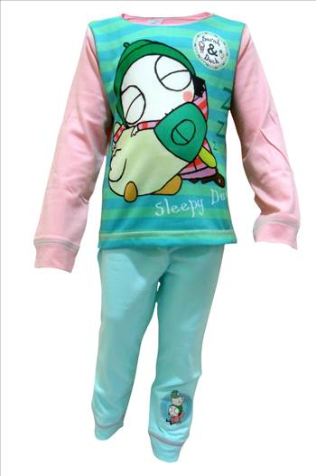 Sarah & Duck Pyjamas PG234 (1).JPG by Thingimijigs