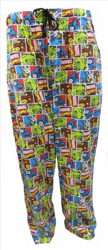 Marvel Comics Mens Lounge Pants MLP54.JPG by Thingimijigs